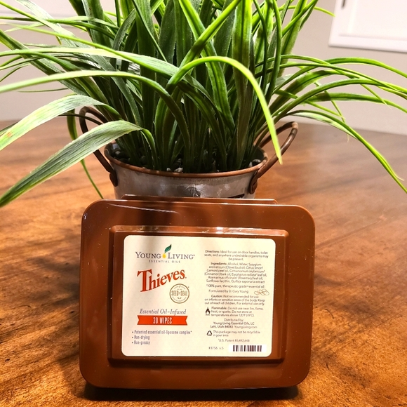 Young Living Thieves Essential Oil Infused Wipes